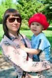Women and boy Stock Photo