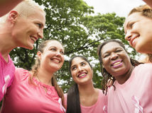 Women Breast Cancer Support Charity Concept Royalty Free Stock Image