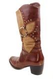 Women brown boot Royalty Free Stock Photos