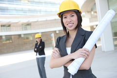 Women Business Architects Royalty Free Stock Photography