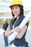 Women Business Architects Royalty Free Stock Images
