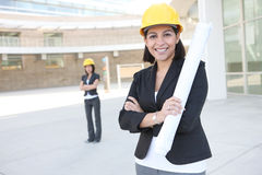Women Business Architects Royalty Free Stock Photo