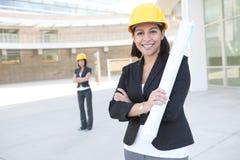 Women Business Architects royalty free stock photo