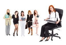 Women in business concept Stock Photo