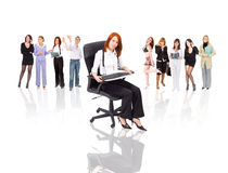 Women in business concept Stock Images