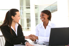 Women Business Team stock images