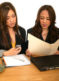 Women Business Team During Busy Hour Stock Photography