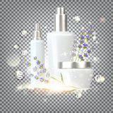 Women care cosmetic. Royalty Free Stock Photos