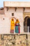 Women at Chand Baori Stepwell.