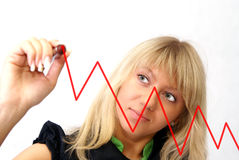 Women Chart Royalty Free Stock Image