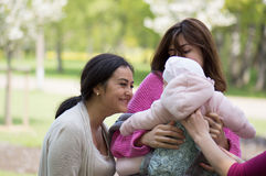 Women with a child Stock Image