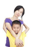 Women and children royalty free stock photos