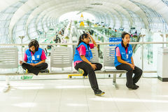 Women of the cleaning company at Stock Photo