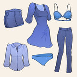Women clothes Stock Photo