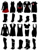 Women clothes Royalty Free Stock Image