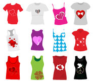 Women clothes. Vector illustration of womwn clothes Royalty Free Stock Photography