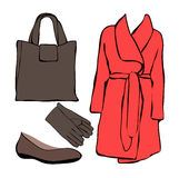 Women clothes Stock Image