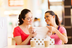 Women clothes shopping Stock Photo