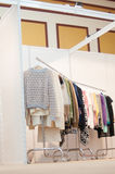 Women clothing stand Stock Image