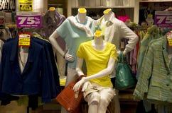 Women clothing store stock photos