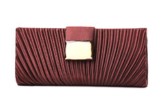 The women clutch bag Stock Photography