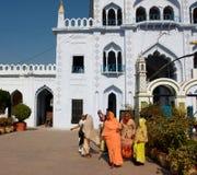 Women in colorful sari Stock Images