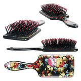 Women comb hair Royalty Free Stock Images