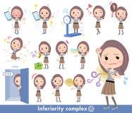 Women_complex lungo dei capelli royalty illustrazione gratis