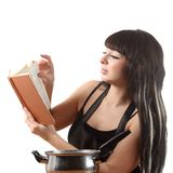 Women cooking Stock Images