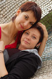 Women couple Stock Image