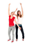 Women dancing Royalty Free Stock Photography