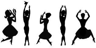 Women dancing Stock Photos