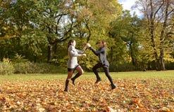 Women dancing Stock Photography