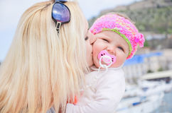 Women with daughter Royalty Free Stock Photos