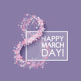 Women day background Royalty Free Stock Photography
