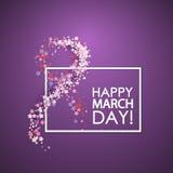 Women day background Royalty Free Stock Photo