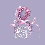 Women day background Stock Image