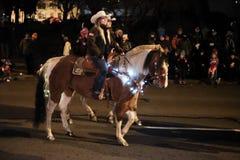 Women deputies on horses, mounted posse, Benton County, Oregon Royalty Free Stock Photos