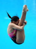 Women Diving Stock Image
