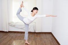 Women do yoga Stock Photography