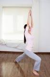 Women do yoga Stock Photos