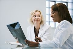 Women doctors Stock Photography
