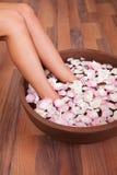 Women doing aromatherapy Royalty Free Stock Photos