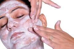 Women doing massage Royalty Free Stock Image
