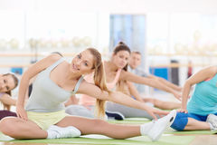 Stretching Stock Image