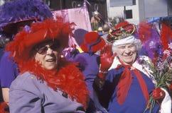 Women in the Doo Dah Parade, Pasadena California Royalty Free Stock Images