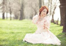 women in dress Royalty Free Stock Photos