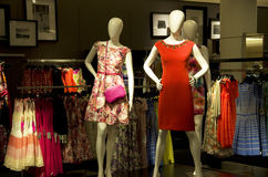Women dress department store Royalty Free Stock Photos