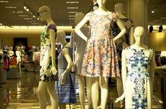 Women dress department store Stock Image