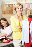 Women In Dress Making Class Stock Images